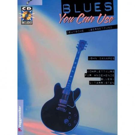 Blues Bundle für E-Gitarre (Lehrbuch & Playback CD) tunesdayrecords.de