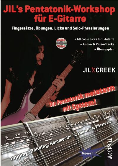 E-Gitarre Lehrbuch Pentatonik tunesdayrecords.de