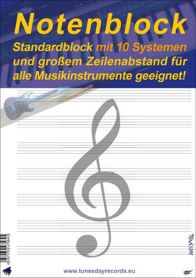 Tabulatur- & Diagramm-Block für Gitarristen im Pocket-Format ...