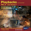 Playbacks for drummers Vol.2