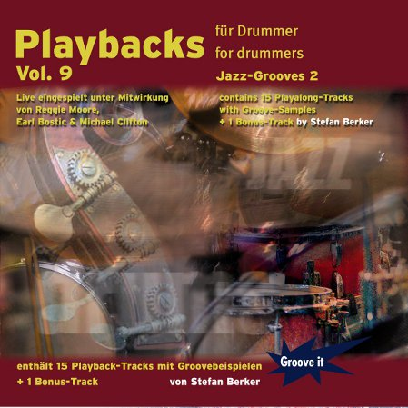 Jazz-Drum-Playalongs CD-Cover
