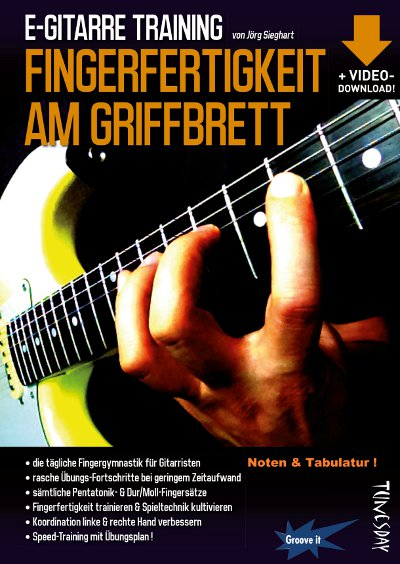 E-Gitarre Training - Fingerfertigkeit am Griffbrett
