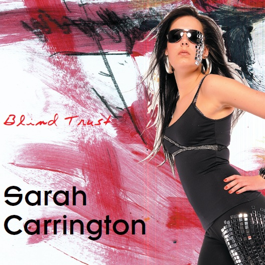 "Sarah Carrington: ""Blind Trust"" CD-Cover"