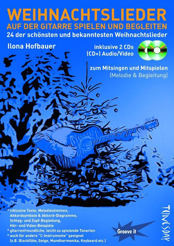 Weihnachtslieder Mit Text Zum Mitsingen.Weihnachtslieder Auf Der Gitarre Spielen Und Begleiten Notenheft