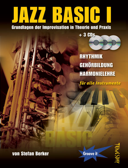 Buch-Cover: Jazz Basic: Improvisation lernen